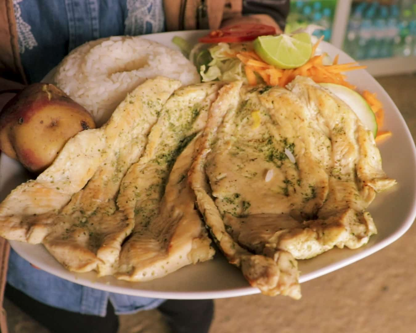 comida en huancaya