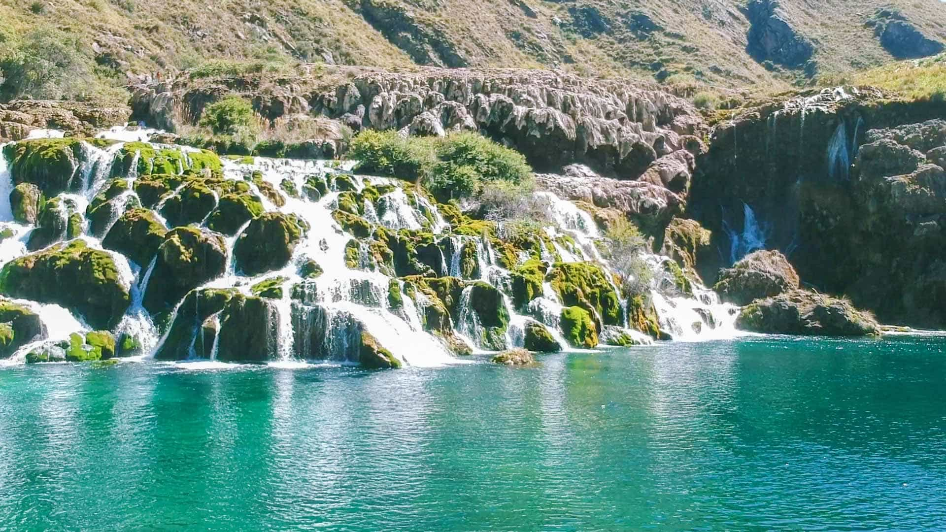 Huancaya laguna